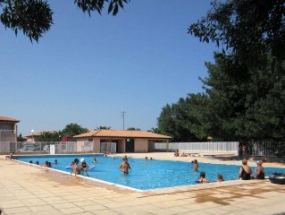 Very beautiful and large T2 with pool in St Cyprien beach at Jade Stones ***