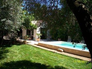 Loue Maison De Vacances Proche D'AVIGNON Avec Piscine Privee.