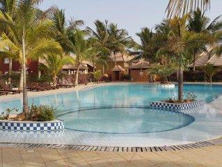 Un petit coin de paradis dans la résidence privée de la Mangrove à Saly