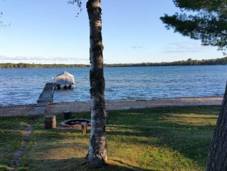 Lake Front House on Beautiful Birch Lake