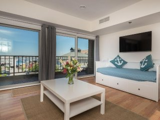 Newly Renovated!  Luxury, Newport Harbor Condo with Stunning Waterfront View