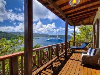 2BD, private dock, great snorkeling. Honeymoon favorite. Private gated peninsula