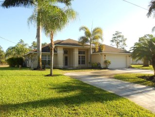 Beautiful Home w/ Heated Pool & Spa in Quiet Area Near Golf, Shopping, & Beaches