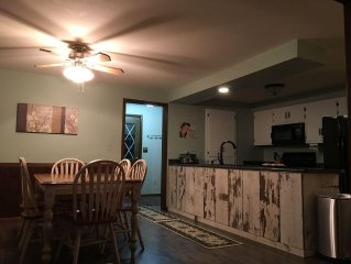 2017 updated flooring/carpet and fresh paint in welcoming Lakefront Home