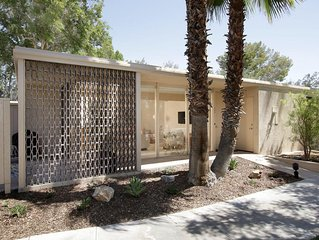 Luxurious Mid-Century Cottage in a Quiet and Private Gated Community