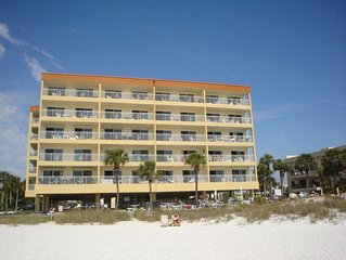 DIRECT GULF FRONT CONDO ACROSS THE STREET FROM JOHNS PASS