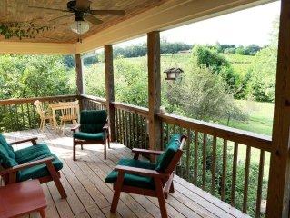The Vine Keeper's Cottage at Crane Creek Vineyards