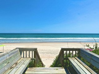 New to VRBO. Stunning Oceanfront remodeled 5 bdrms  with 4 on ocean!!!!