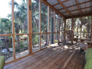 Private Steinhatchee Cabin with Dock and Boat Ramp