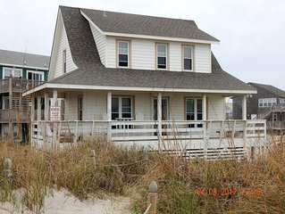 Oceanfront, Rodanthe, Pet Friendly, 3BR, 2BA,beachfront, beautiful sunsets
