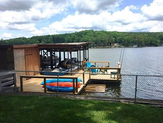 Amazing water front home on Badin Lake with private pier and gorgeous views