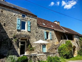 Character stone house with self contained studio and private swimming pool