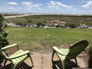 Ocean Front!  Center Island - Best Location on the Beach!!
