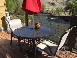 New - On The River And In Downtown... Stunning Salida Vacation Rental-2Br/E