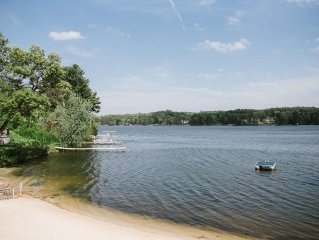 Winter Lakefront Beauty! 2-story Cozy Condo-Majestic Lake Delton,WI Dells-Water