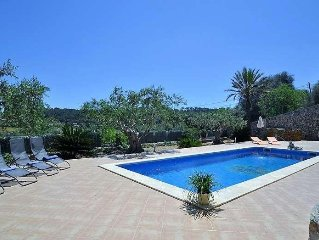 Costitx villa for 8 people, private pool, wifi