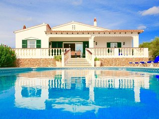 Sweet villa with private pool, gardens and total privacy near Cala en Porter