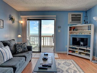 Topsail Reef 384 Oceanfront! | Building 7, Floor 3, Tennis Courts, Grill Area, I