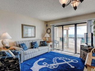 Topsail Dunes 1310 Oceanfront! | Community Pool, Tennis Courts, Grill Area