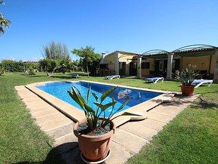 Villa ideal para vacaciones de playa y tranquilidad con familia amigos.