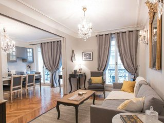 SALE! Stunning & Spacious in Superb Location with Balcony & Eiffel Views