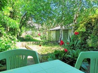 2 pieces ensoleille avec jardin proche centre de Nantes