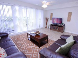 Large End Unit Town Home with Both Bay Side and Harbor Side Views