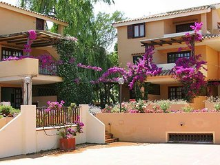 Apartment RESIDENCE BOUGAINVILLAE  in Porto Cervo, Sardinia - 4 persons, 1 bedr