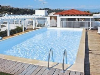 Residence Le Crystal, Cagnes-sur-Mer  in Alpes - Maritimes - 6 persons, 2 bedro