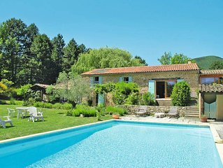 Vacation home in Dieulefit, Mont Ventoux surroundings - 10 persons, 4 bedrooms