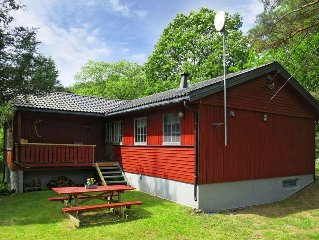 Vacation home in Sögne, Southern Norway - 6 persons, 3 bedrooms