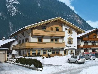 Apartment Haus Alpenland  in Mayrhofen, Zillertal - 3 persons, 1 bedroom