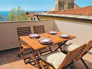 Apartment Casa Bella Vista  in Cipressa, Liguria: Riviera Ponente - 4 persons,