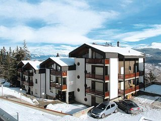 Apartment Residence Le Hameau  in Les Collons, Quatre Vallees - 6 persons, 2 be