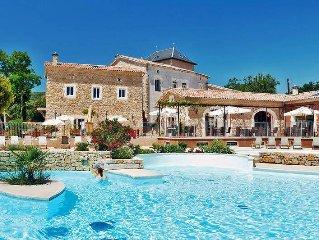 Apartment Domaine de Sévenier  in Lagorce, Ardèche - 6 persons, 3 bedrooms