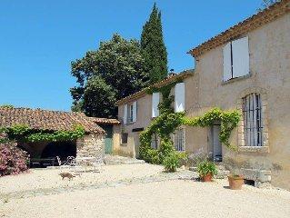 Ferienhaus Mas Les Ramades  in Caseneuve, Luberon - 6 Personen, 3 Schlafzimmer