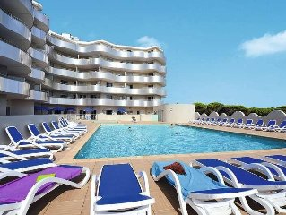 Apartment Residence Le Lotus Blanc  in Port Barcares, Languedoc - Roussillon -