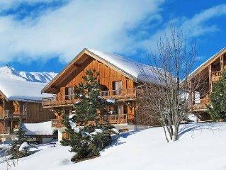 Apartment Les Chalets des Cimes  in La Toussuire, Savoie - 9 persons, 4 bedrooms