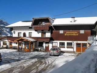 Apartment Klammlhof  in Zell im Zillertal, Zillertal - 5 persons, 2 bedrooms