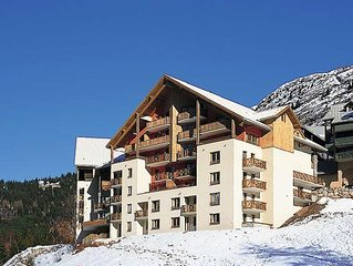Apartment Residence Couleurs Soleil  in Oz en Oisans, Isere - 4 persons