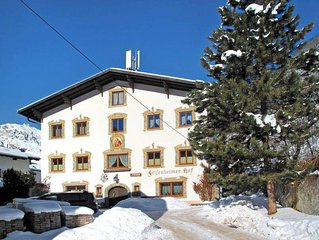Apartment Felsenheimer Hof  in Nassereith, Pitz Valley / Pitztal - 13 persons,