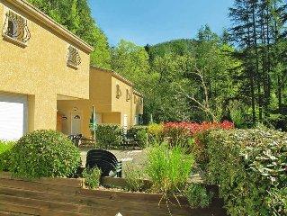 Ferienwohnung in Vals - les - Bains, Ardèche - 7 Personen, 2 Schlafzimmer