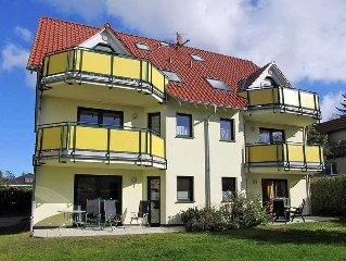 Apartment Fewo Ostseetrio  in Zinnowitz, Usedom - 3 persons, 2 bedrooms