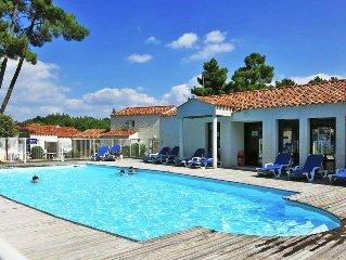 Ferienwohnung Le Domaine des Oyats  in Longeville - sur - Mer, Vendée - 10 Perso