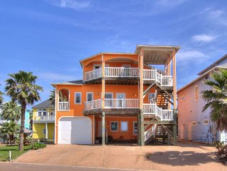 The Ultimate Beach House with Gulf Views! 6 bedrooms 6 baths 3000 sq. ft.