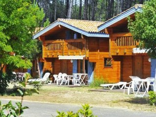 holidayresort Le Domaine des Pins d'Or, Bias  in Landes - 6 persons, 2 bedrooms