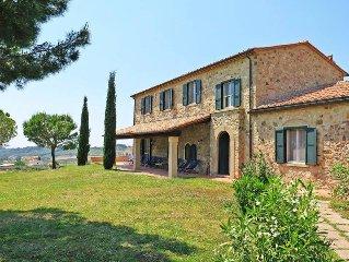 Vacation home Villa Debbio di Cocco  in Bibbona (LI), Riviera degli Etruschi -