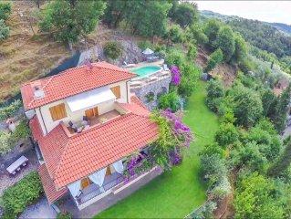 Villa  charme Toscana  vista mare  11 pax