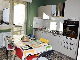 Ampio appartamento con condizionatori e wifi illimitato