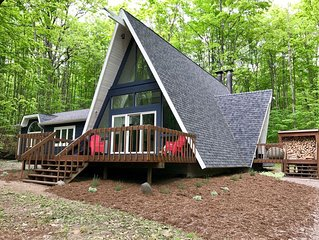 Newly Remodeled Chalet, Walk To Shanty & Golf, Only 30 minutes to Boyne Mountain